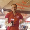Juli 2019: Petr Nemecek, Cafe RED im Center West