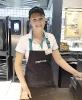 September 2019: Michaela Klein, Feinkostabteilung im Merkur Markt in der Shoppingcity  Seiersberg