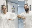 September 2020: Jessica Ruck und Christian Schober, Radiologie UKH Graz